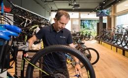 Bikeshop Ilanz Werkstatt