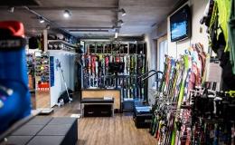 Shop Disentis Sortiment Ski & Skischuhe